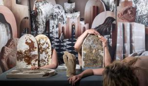 Noemi Niederhauser / I'm not gonna crack, 2019, Ceramic, Ceramic-Concret © HEAD – Genève, Raphaëlle Mueller