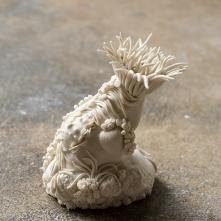 Anemona, porcelain, 10,5 x 10 x 14 cm, 2020 ©Fondation Bruckner