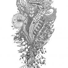 Ce qu'il restera, Anne-Sophie Guerinaud, 2020 - dessin