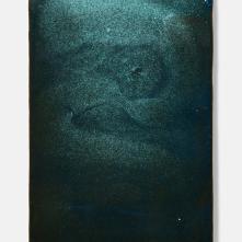 CuCO3 Black, 2017, ceramic, 27 cm × 40 cm x 2cm