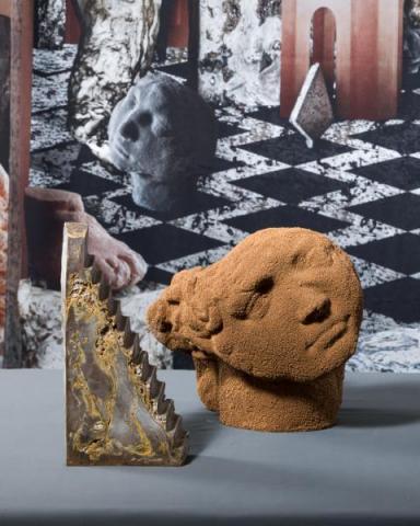 Noemi Niederhauser / I'm not gonna crack, 2019, Ceramics, Ceramics-Concrete © HEAD – Genève, Raphaëlle Mueller