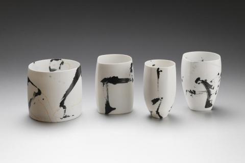 Porzellanunikate - Karin Bablok ©Michael Wurzbach