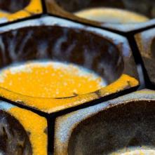 Alvéole nids d'abeille ©Irina Popa